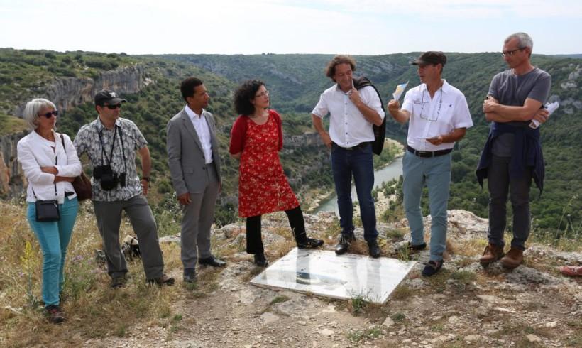 Rencontre sur site à l'occasion de l'inauguration de la Réserve de Biosphère