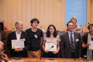 Réception des Trophées à L′UNESCO