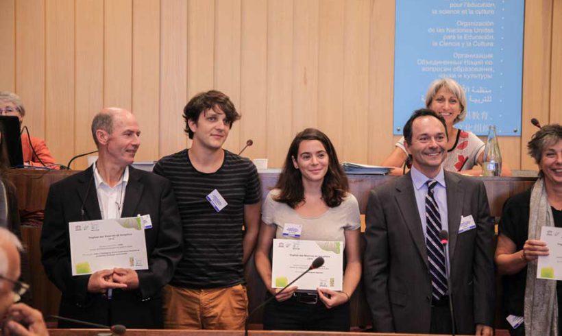 Remise du Trophée des Réserves de Biosphère à CITRE