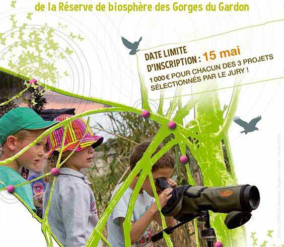 Trophées 2016 de la Réserve de la biosphère des Gorges du Gardon