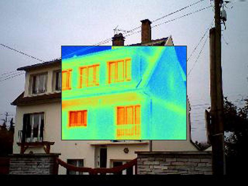 Balade thermographique à Uzès le 6 décembre