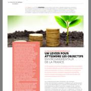 ADEME : article sur la fiscalité environnementale