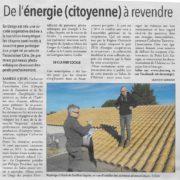 CITRE au 3ème salon de l'habitat à Uzès : de l'énergie citoyenne à revendre