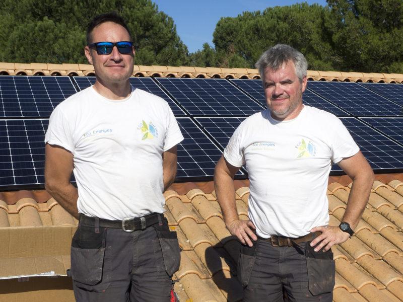 Olivier et Matthieu Henry d'Eco Energies