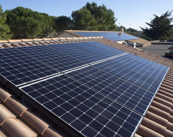 Le toit solaire de l'école de Sanilhac en production