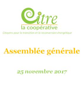 CITRE - AG 25 novembre 2017
