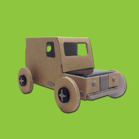 Petite auto solaire kraft