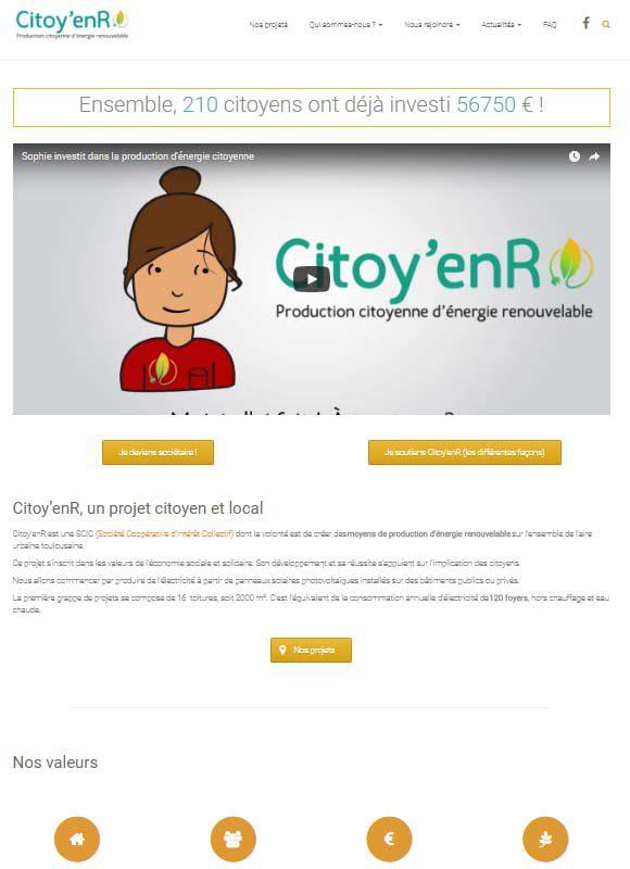 Citoy'enR, un projet citoyen et local