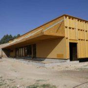Garrigues-Sainte-Eulalie : ombrière photovoltaïque au foyer communal