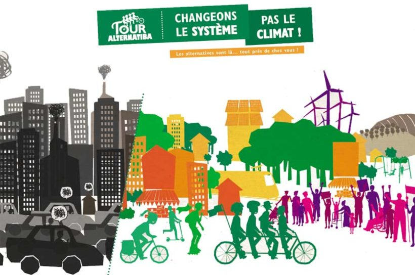 Le Tour Alternatiba rencontre CITRE