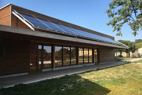 Les installations photovoltaïques du foyer de Garrigues