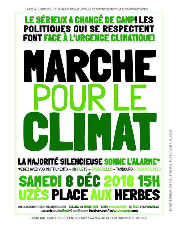 Marche pour le Climat à Uzès