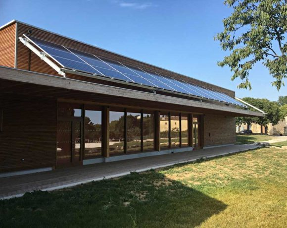 Inauguration de l'ombrière photovoltaïque de Garrigues-Sainte-Eulalie