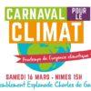 Marche pour le climat 16 mars 2019 à Nîmes