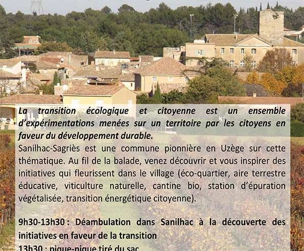 Sanilhac, village en transition