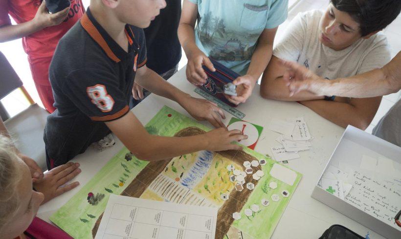 Création de jeux à l'école de Sanilhac-Sagriès