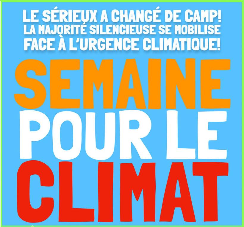21 septembre : Marche pour le climat