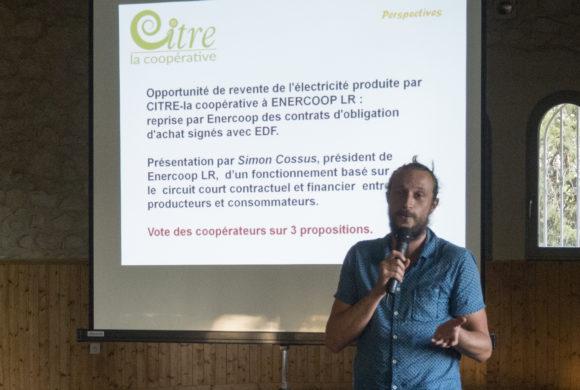 Simon Cossus, Directeur Général d′ENERCOOP