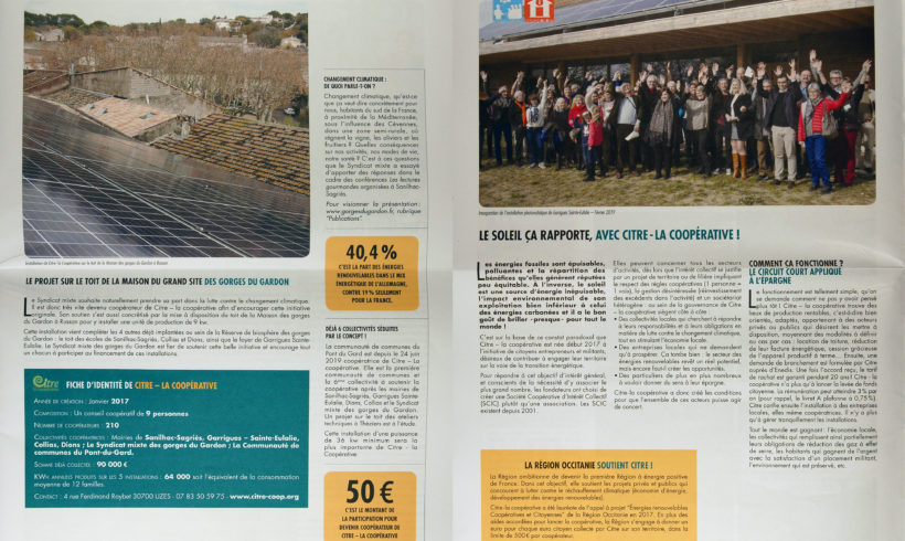 Journal du Syndicat Mixte des Gorges du Gardon