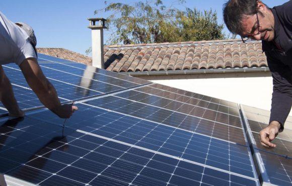 Dions : toit photovoltaïque à l'école